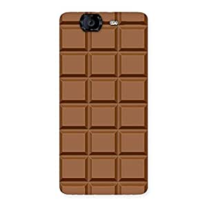 Special Classic Chocolate Back Case Cover for Canvas Knight A350