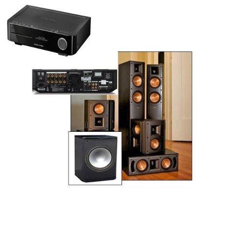 Klipsch Rf-42Ii Theater System-Pa-120 Sub-Harman Bds 5 5.1 Av Rec And Blu Ray
