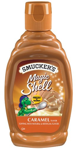Smucker's  Magic Shell  Caramel Flavor Topping, 7.25-Ounce (Pack of 6)