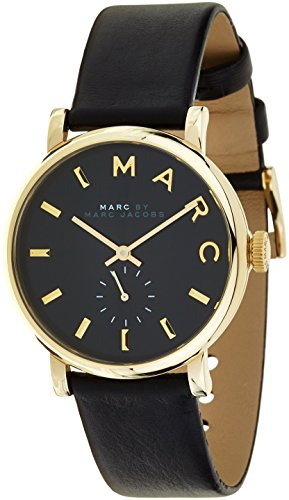 marc-jacobs-womens-quartz-watch-with-black-dial-analogue-display-and-black-leather-bangle-mbm1269