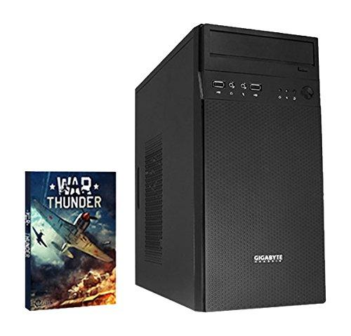 VIBOX Ingentium 8 Desktop Gaming PC - with WarThunder Game Bundle (4.0GHz Intel i7 6700K Quad Core Processor, 2TB Hard Drive, 16GB RAM, Gamer Case, No Operating System)