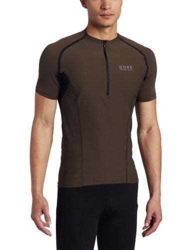 Gore X-Running Running Wear Men's Shirt Zip