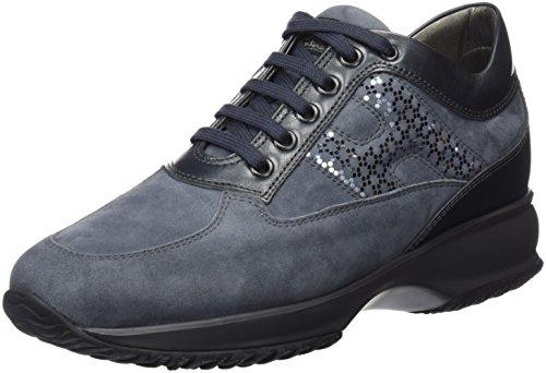 HOGAN - Hxw00N0V350Q25B613, Scarpa da donna, grigio (ombra medio), 38,5