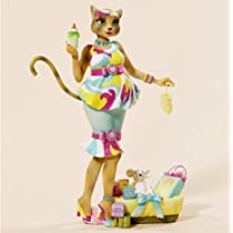 Alley Cats 8 Katty Diva New Mommy Figurine By Margaret Le Van