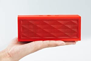 EXPOWER big box bluetooth wireless speakers for iPhone 5, 4S, 4, 3GS, iPads, Bluetooth Android Phones, Samsung Galaxy Note, Galaxy S3, Galaxy S2, Galaxy Nexus, HTC One X and all other Smart Phones, Tablets and Computers (red)