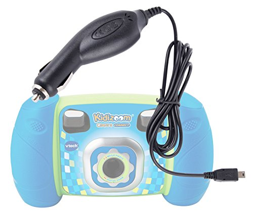 Duragadget Mini Usb In-Car Power Supply For Kids Vtech Kidizoom Connect / Kidizoom Touch / Kidizoom Twist / Kidizoom Plus Camera