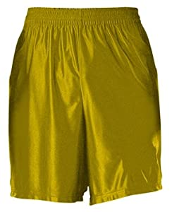 Buy Alleson Adult Dazzle Basketball Shorts- VG - VEGAS GOLD A2XL by Alleson Athletic