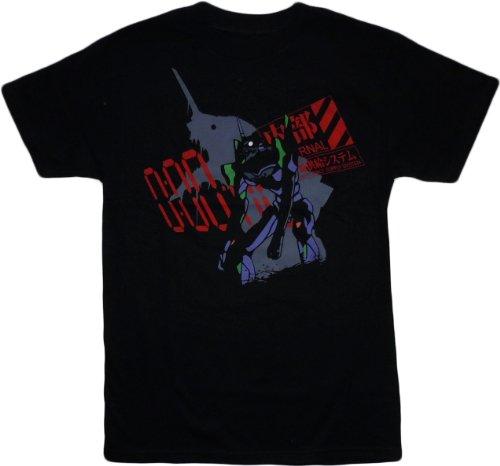 5d75646b26c Neon Genesis Evangelion EVA Unit 1 Berserk Black T Shirt Adult Medium