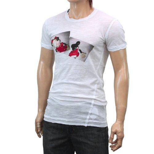 (ドルチェ&ガッバーナ)DOLCE&GABBANA ドルチェ アンド ガッバーナ Tシャツ G8X00T-G7LE8-W0800 54 [並行輸入品]