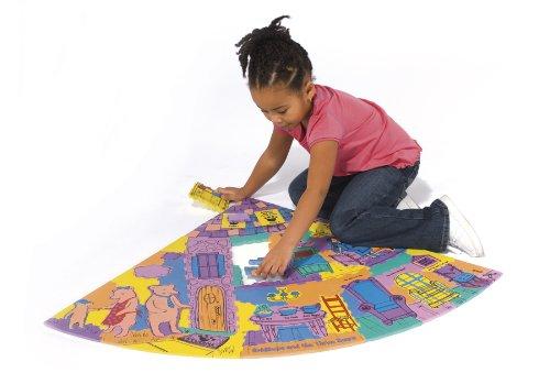 Cheap Chenille Kraft WonderFoam® Giant Story Corner Goldilocks & Three Bears Activity Puzzle (B003E7FABK)