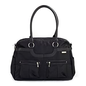 JJ Cole Collections JMLOX - Bolsa pañal, color negro marca JJ Cole Collections