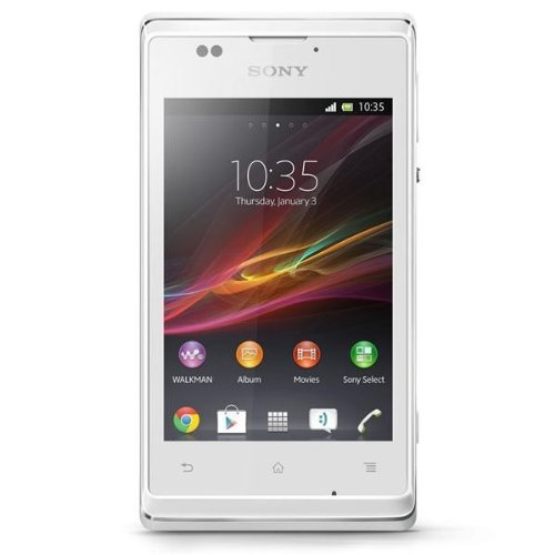 Sony Xperia E C1504 White SIMフリー/Menu日本語,English,Spanish,Portuguese,Italian,etc