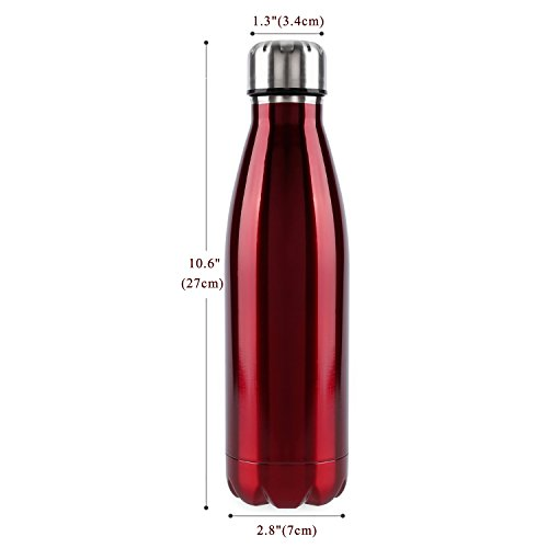 outad-botella-termica-en-acero-inoxidable-forma-de-bolos-bowling-rojo