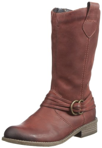 Rieker Kinder Peggy Boots Girls Red Rot (vino 33) Size: 41
