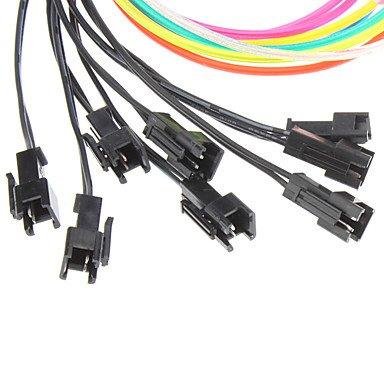 1 mètre Flexible voiture décoratifs Neon Light 2.3mm EL Wire Rope avec inverseur de voiture de lumière , Purple