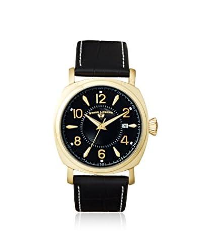 Swiss Legend Men's 10050-YG-01 Executive Black Calfskin Watch