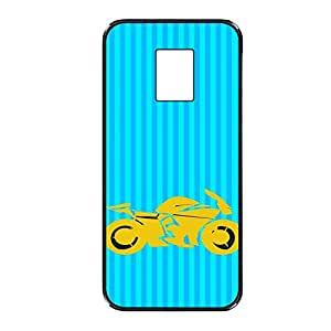 Vibhar printed case back cover for Samsung Galaxy S5 YelBluBike