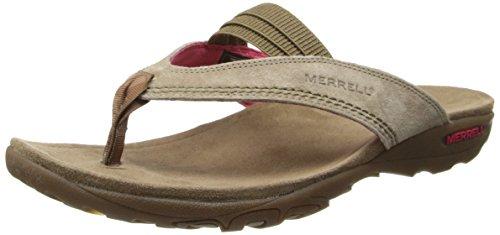 Merrell Women's Mimosa Anise Sandal,Kangaroo,10 M US