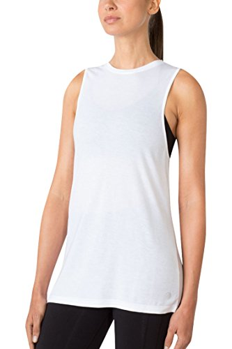 MPG Julianne Hough Women's Newbie Hero Knit Tank L Bright White