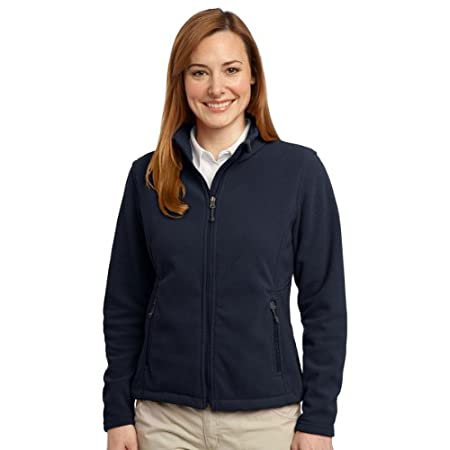 This exceptionally soft fleece jacket will keep you warm during everyday excursions and it's offered at an unbeatable price. 13.8 ounce 100% polyester Gently contoured silhouette Twill taped neck Reverse coil zipper Zipper garage Bungee cord zipper p...
