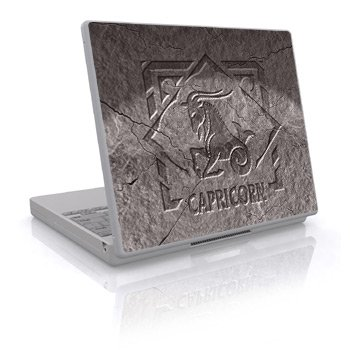 Zodiac - Capricorn Design Skin Decal Sticker Cover for Laptop Notebook Computer - 15