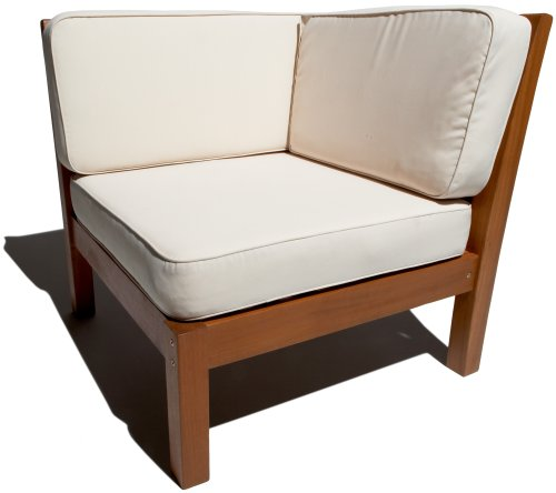 Strathwood Balboa Deep Seat Corner Chair with Cushion