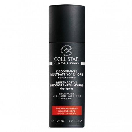 Linea Uomo Deodorante Multi-Attivo 24 Ore 125 ml Spray Secco