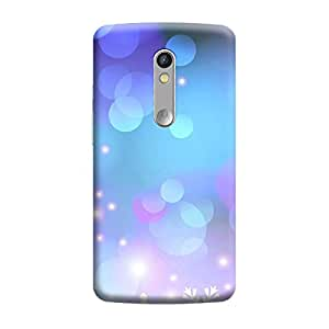Digi Fashion Designer Back Cover with direct 3D sublimation printing for Motorola Moto X Play
