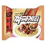 【BOX販売】農心 四川料理チャパゲティ 137g X 40個入■韓国食品■冷麺/春雨/ラーメン■農心