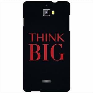Micromax Canvas Nitro A311 Back Cover - Silicon Think Big Designer Cases