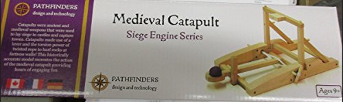 Pathfinders Medieval Catapult Wooden Kit