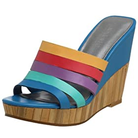 Nine West Women's Mudpie Platform Wedge Slide