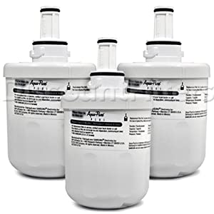 Samsung Aqua-Pure Plus Refrigerator Water Filter (DA29-00003G), 3-Pack