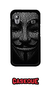 Caseque Vendetta Typography Back Shell Case Cover For Samsung Galaxy Ace