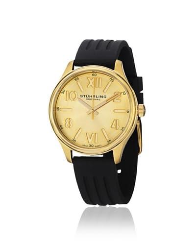 Stuhrling Women's Lady Variance Classic Black/Gold Watch