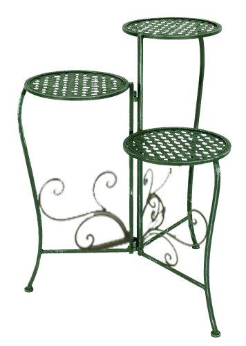 blumenregal metall. Black Bedroom Furniture Sets. Home Design Ideas