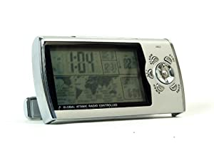New Haven Global Radio Controlled Travel Clock