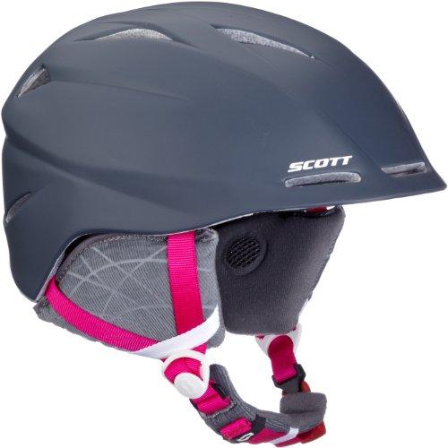 Scott Uni Skihelm Tracker, grey/pink, 55.5 - 57.5cm (22.25 inches), 2202512905007