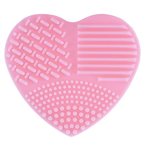 new-make-up-brushes-cleaner-heart-shape-cleaning-makeup-washing-brush-silicone-clean-scrubber-board-