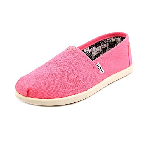 Toms Classic Youth Size 5.5 Pink Loafers