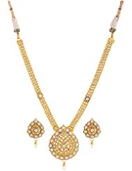 RK Fashion Gold Plated Necklace Set For Women (RKn0014)