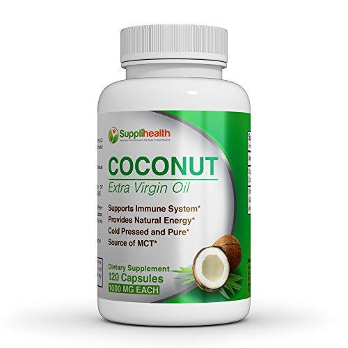 Coconut oil pills