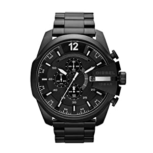 Diesel Watches Men's DZ4180 Master Chief Black Stainless Steel band