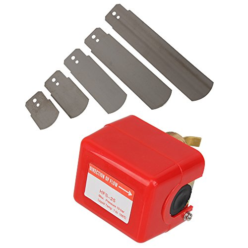 "BQLZR Red AC 250V 15A SPDT G1"" Cooling System Water Paddle Flow Control Switch"