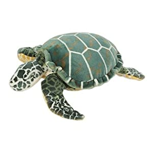 Melissa &amp; Doug Giant Plush Stuffed Sea Turtle