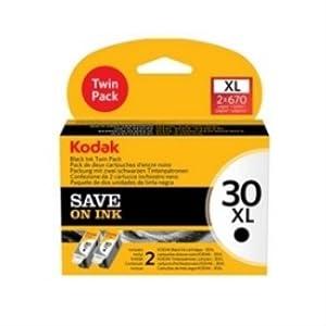 Kodak 30xl Ink Cartridge - Black (Pack of 2)