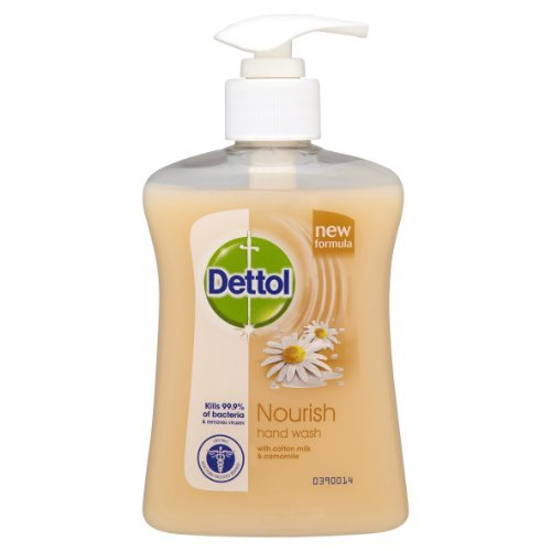 Dettol Nourish Hand Wash with Cotton Milk and Camomile 250ml by Dettol