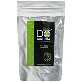 DoMatcha Organic Ten-Cha with Matcha Blend (Japanese Green Tea)