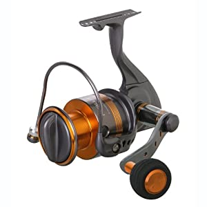Okuma Raw II Spin Reel (5.0:1 / 8 Pounds, 160 -Yards)