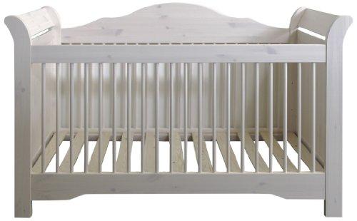 Steens-Furniture-607-Steens-Lotta-Babybett-Kiefer-Liegeflche-70-x-140-cm-white-wash